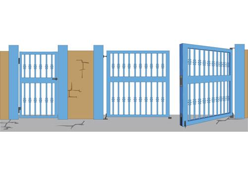 dobradiças portas
